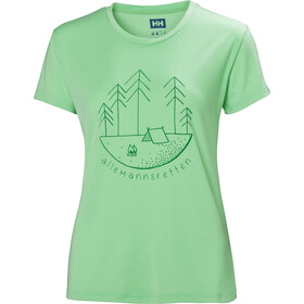 Helly Hansen Skog Graphic T-Shirt Damen spring bud